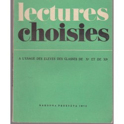 Lectures choisies
